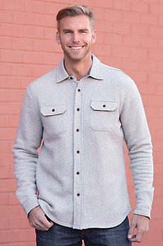 Tailor Vintage Cotton-Blend Shirt Jacket