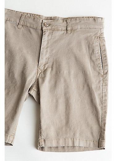 Men's Tailor Vintage Slim Linen and Cotton Walking Shorts