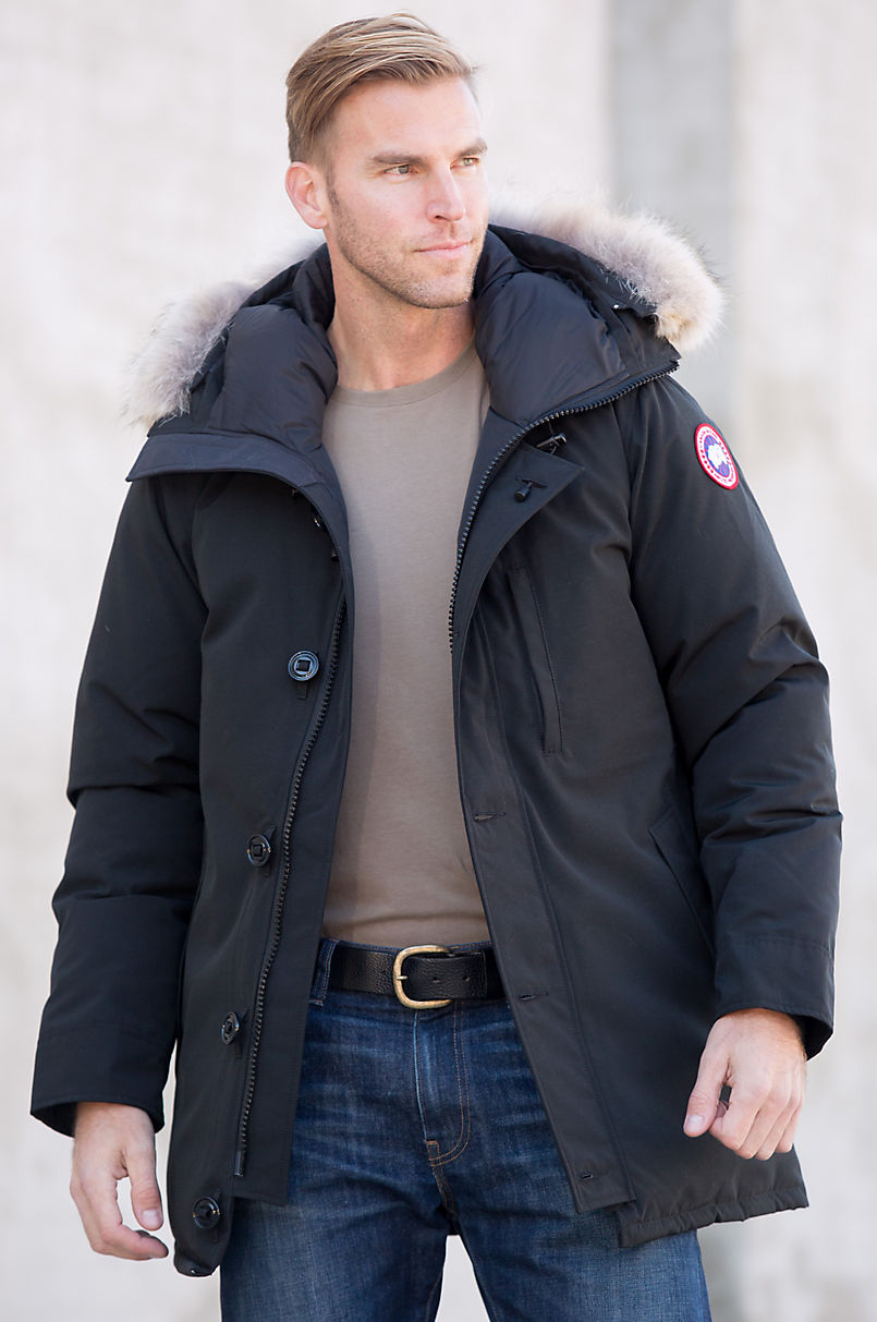 4315f9e674 Canada Goose Chateau Down Parka with Coyote Fur Trim | Overland