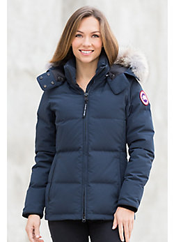 Canada Goose Chelsea Down Parka with Coyote Fur Trim