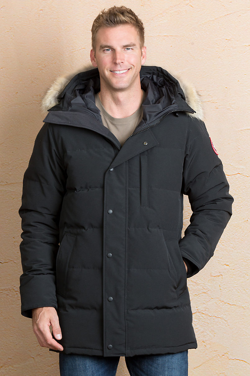 4ba8afb3ce919 Canada Goose Carson Parka with Coyote Fur Trim | Overland