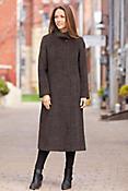 Belinda Alpaca-Blend Wool Coat