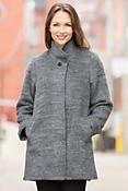 Olympia Alpaca Wool-Blend Coat