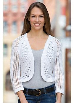 Vintage Cocoon Handmade Cotton Cardigan Sweater