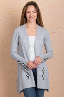 Indigenous Novelty Spring Handmade Organic Cotton Cardigan Sweater