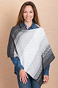 Indigenous Ombré Handmade Organic Cotton Poncho
