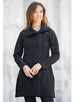 Urban Organic Peruvian Cotton Coat