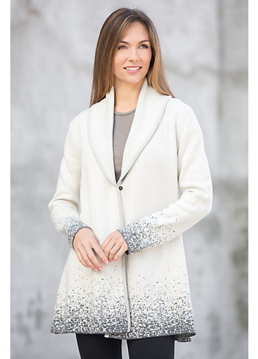 Artisan Organic Cotton Cardigan Sweater