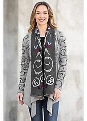 Presley Alpaca Wool Open Sweater