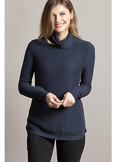 Alexandria Organic Peruvian Cotton Pullover Sweater