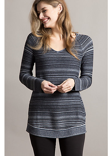 Laetitia Organic Peruvian Cotton Pullover Sweater