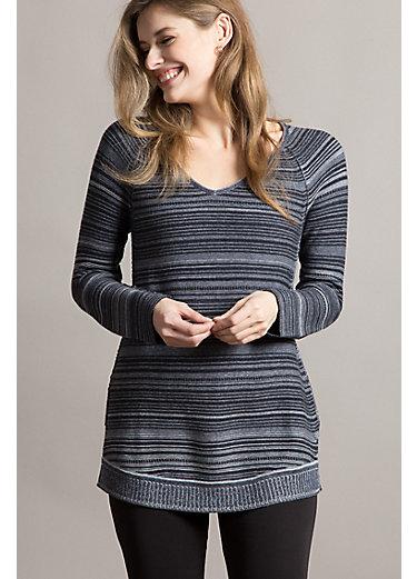 Laetitia Organic Peruvian Cotton Pullover Sweater