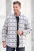 Southwest Woven Cotton Shirt Jacket