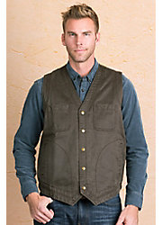 Eli Coated Cotton Vest