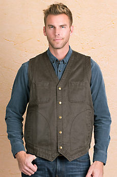 Eli Coated Cotton Vest