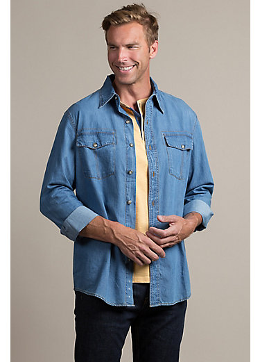 Dan Denim Cotton Shirt