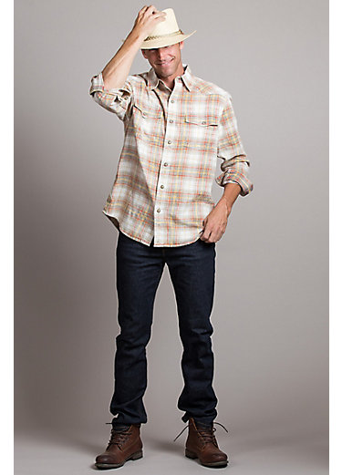 Mike Multi Plaid Cotton Shirt
