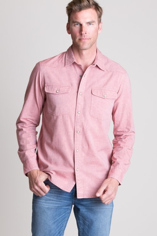 Forge Dobby Cotton Western Shirt