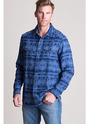 Wrightson Jacquard Cotton Western Shirt