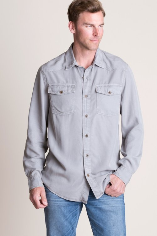 Graham Tencel Western Shirt