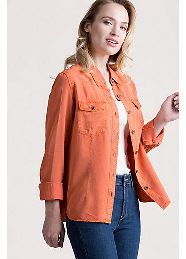 Lilia Western Tencel Shirt