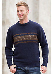 Adler Peruvian Alpaca Wool Pullover Sweater