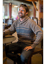 Trevor Peruvian Alpaca Wool Sweater