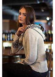 Natalia Peruvian Alpaca Wool Hoodie Sweater