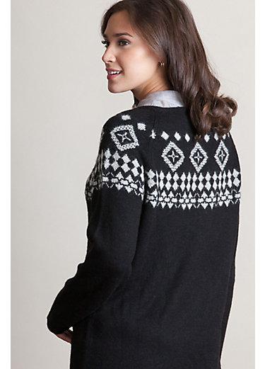 Lindsey Peruvian Alpaca Wool Tunic Sweater