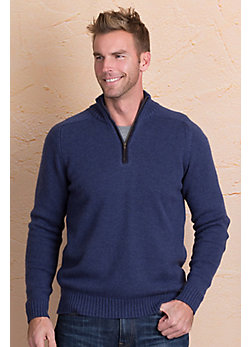 Logan Merino Wool and Cashmere Pullover Sweater