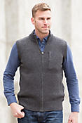 Nolan Sheep and Yak Wool Sweater Vest
