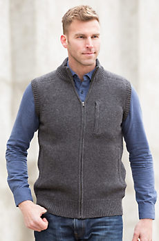 Lincoln Sheep and Yak Wool Sweater Vest