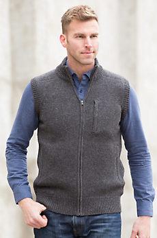 Nolan Sheep and Yak Wool Sweater Vest