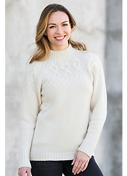 Zoey Cashmere Cable Sweater