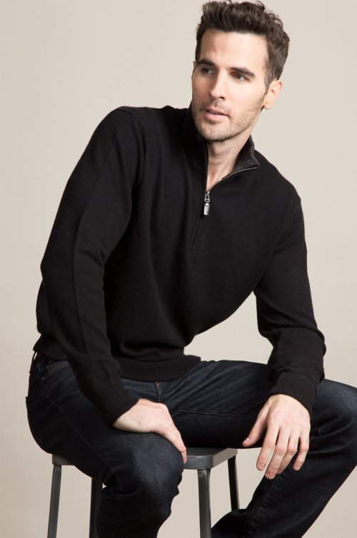 Vance Cashmere Pullover Sweater