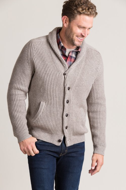 Stefan Cashmere-Blend Cardigan Sweater