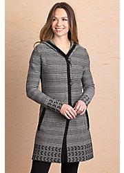 Janice Peruvian Alpaca Wool Hoodie Sweater