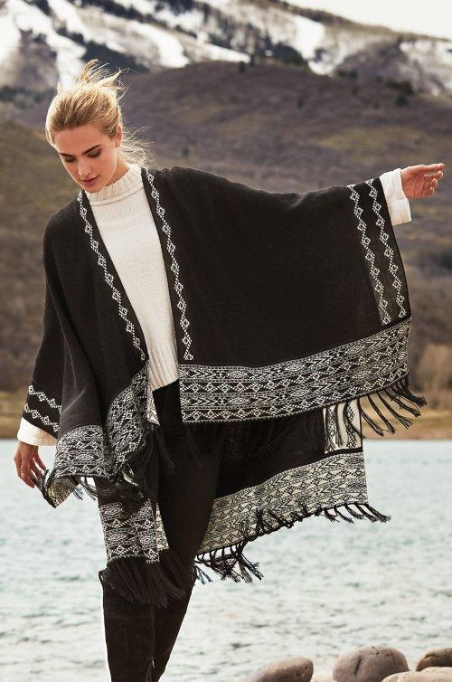 Shessira Alpaca Wool Wrap