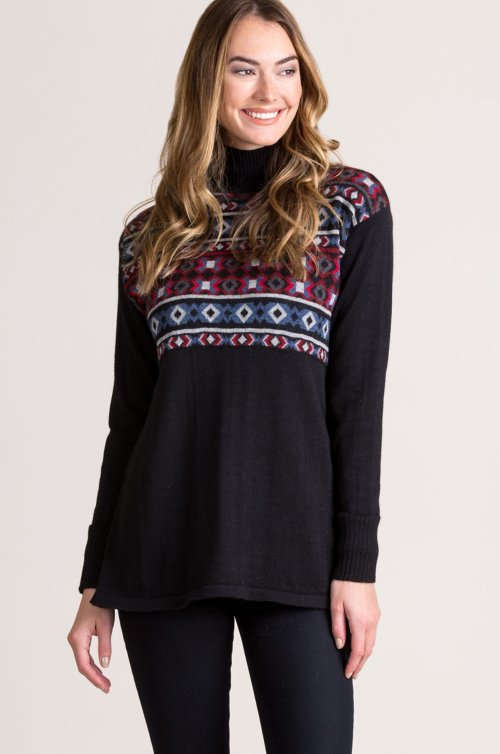 Leighton Alpaca Wool Pullover Sweater