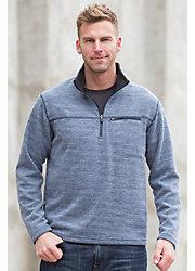 Carson Space-Dyed Fleece Pullover