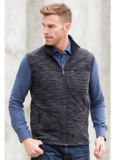 Carson Space-Dyed Fleece Vest
