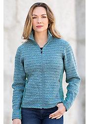 Clara Space-Dyed Fleece Jacket