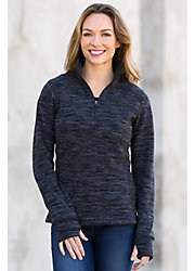 April Space-Dyed Fleece Pullover