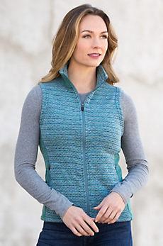Clara Space-Dyed Fleece Vest