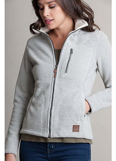 Juneau Italian Wool-Blend Fleece Jacket