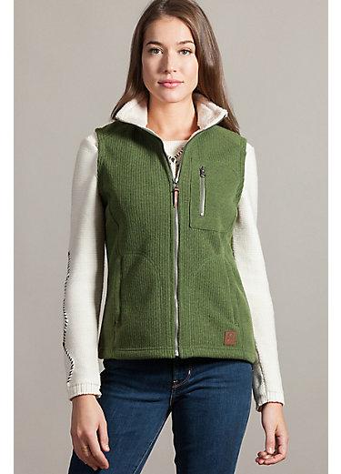 Juneau Italian Wool-Blend Fleece Vest