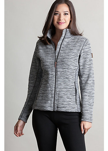 Aurora Italian Wool-Blend Fleece Jacket