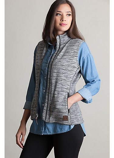 Aurora Italian Wool-Blend Fleece Vest