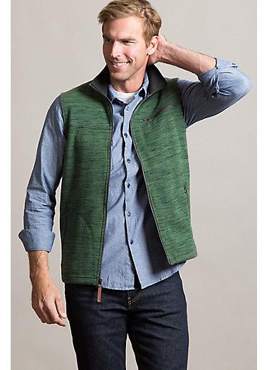 Boreas Italian Wool-Blend Fleece Vest
