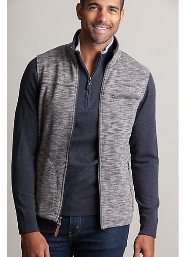 Boreas Italian Wool-Blend Fleece Vest